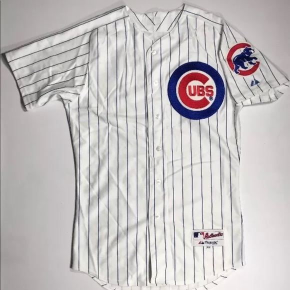 cf0033cd Chicago Cubs Authentic Majestic Jersey Size 40